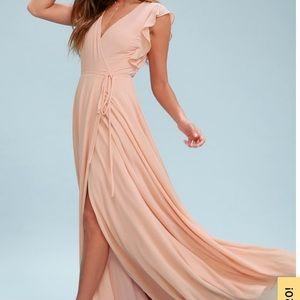 Bridesmaid dress/ long ball gown.